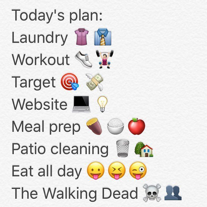 What are you up to today? ANSWER IN EMOJI . . . #tomorrowsmom #tmom