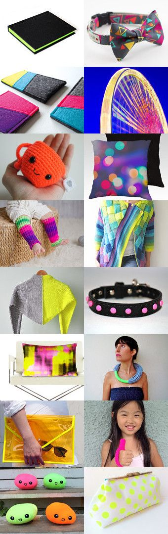 Neon!!! by Patricia Stockebrand on Etsy