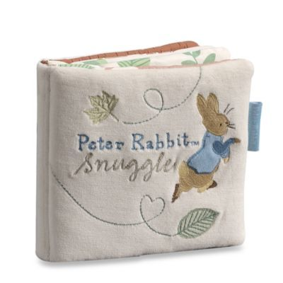 Peter Rabbit Snuggle: An Organic Rag Book - buybuyBaby.com $14.99