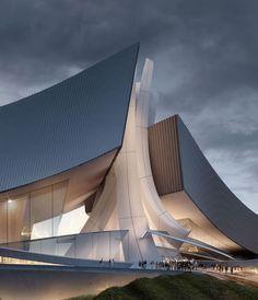 Tongyeong Concert Hall #contemporaryarchitecture