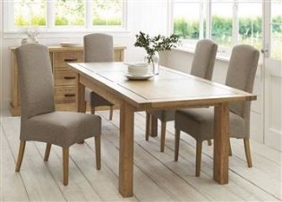 Oakham Sold Oak 6 Person Dining Table