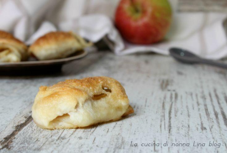 Fagottini+di+mela,+ricetta+con+solo+5+ingredienti!
