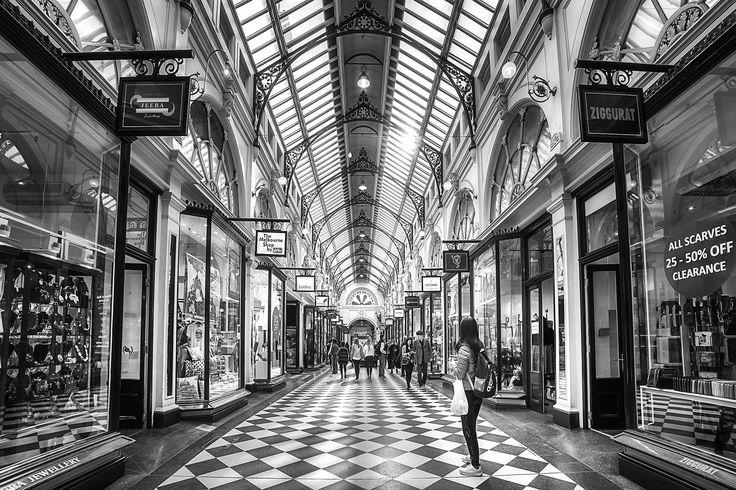 https://flic.kr/p/HX2Hsc | Royal Arcade | Melbourne, Victoria, Australia, July 2016.
