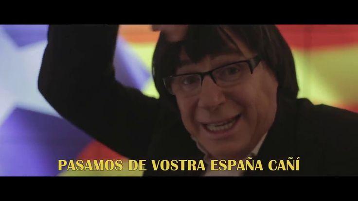 Parodia INDEPENDENCIA CATALUÑA  Morancos Maluma Felices los 4