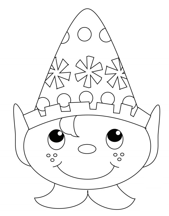 elf yourself coloring pages - photo#12