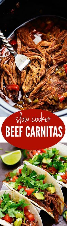 Flank steak that is rubbed in spices and slow cooks with peppers, jalapeño, and onions all day to tender and juicy perfection! This recipe is easy and will become a family favorite!