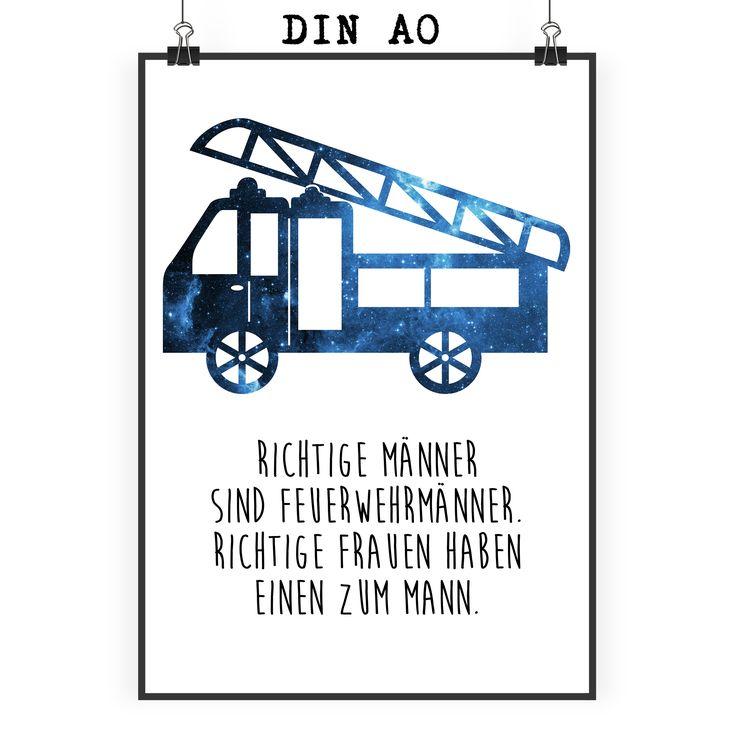 Poster DIN A0 Feuerwehr aus Papier 160 Gramm  weiß - Das Original von Mr. & Mrs. Panda.  Jedes wunderschöne Poster aus dem Hause Mr. & Mrs. Panda ist mit Liebe handgezeichnet und entworfen. Wir liefern es sicher und schnell im Format DIN A0 zu dir nach Hause. Das Format ist 841 mm x 1189 mm.    Über unser Motiv Feuerwehr  Sie sind immer für uns da, helfen unseren Katzen von den Bäumen, löschen jeden Brand und sind rund um die Uhr erreichbar - unsere freiwillige Feuerwehr.     Verwendete…