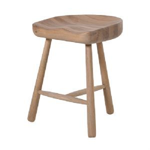Small Oak 3 Leg Stool