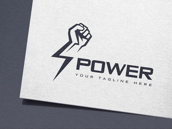 power logo power logo logo design template vector logo design logo design template