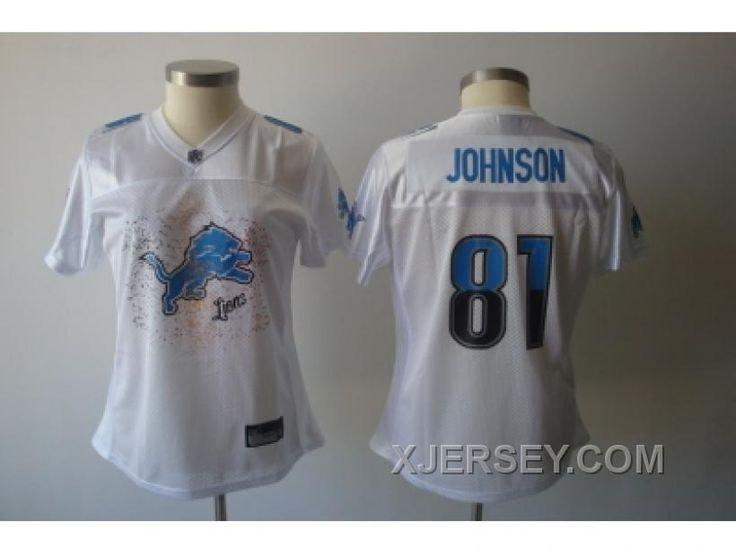 http://www.xjersey.com/women-nfl-detroit-lions-81-calvin-johnson-white2011-fem-fan-new.html WOMEN NFL DETROIT LIONS #81 CALVIN JOHNSON WHITE[2011 FEM FAN] NEW Only $34.00 , Free Shipping!