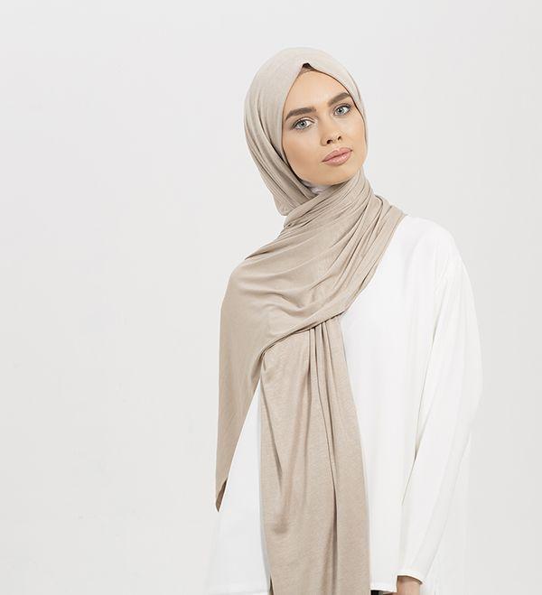 Washed Mink Maxi Jersey Hijab - £12.99 : Inayah, Islamic Clothing & Fashion, Abayas, Jilbabs, Hijabs, Jalabiyas & Hijab Pins