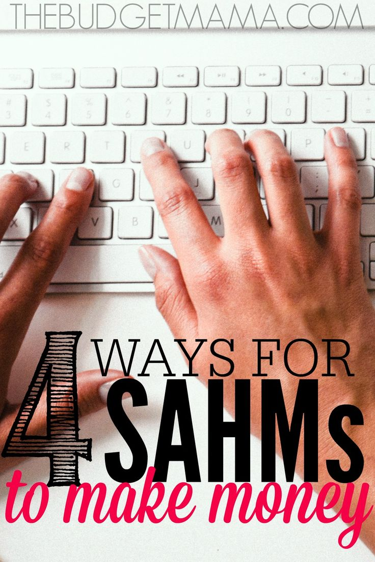 Need to add more money into your budget but don't want to stop being a SAHM? These ways for SAHMs to make money will help you earn extra cash for your budget.