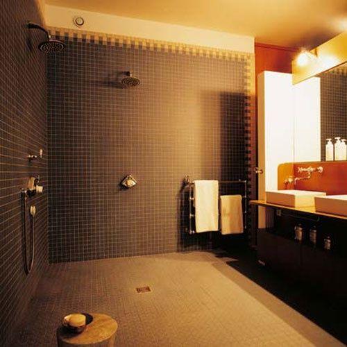 76 Stylish Truly Masculine Bathroom D cor Ideas   DigsDigs. Best 25  Masculine bathroom ideas on Pinterest   Hex tile  Black