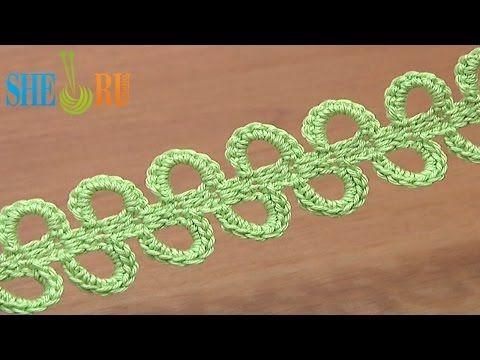Crochet Ribbon Big Chain Spaces Tutorial 42