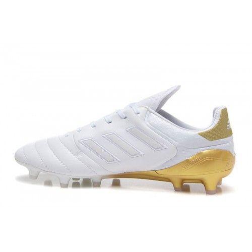 Beste Adidas Copa 17.1 FG Weib Gold Fubballschuhe