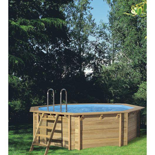 piscine hors sol bois weva proswell by procopi x x m est sur leroymerlinfr faites le bon choix en retrouvant tous les avantages produits de piscine - Piscine Leroy Merlin Hors Sol Bois