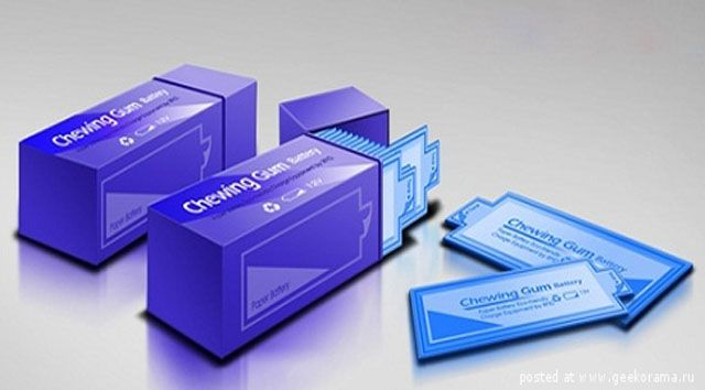 » Chewing gum for charging gadgets Future technology
