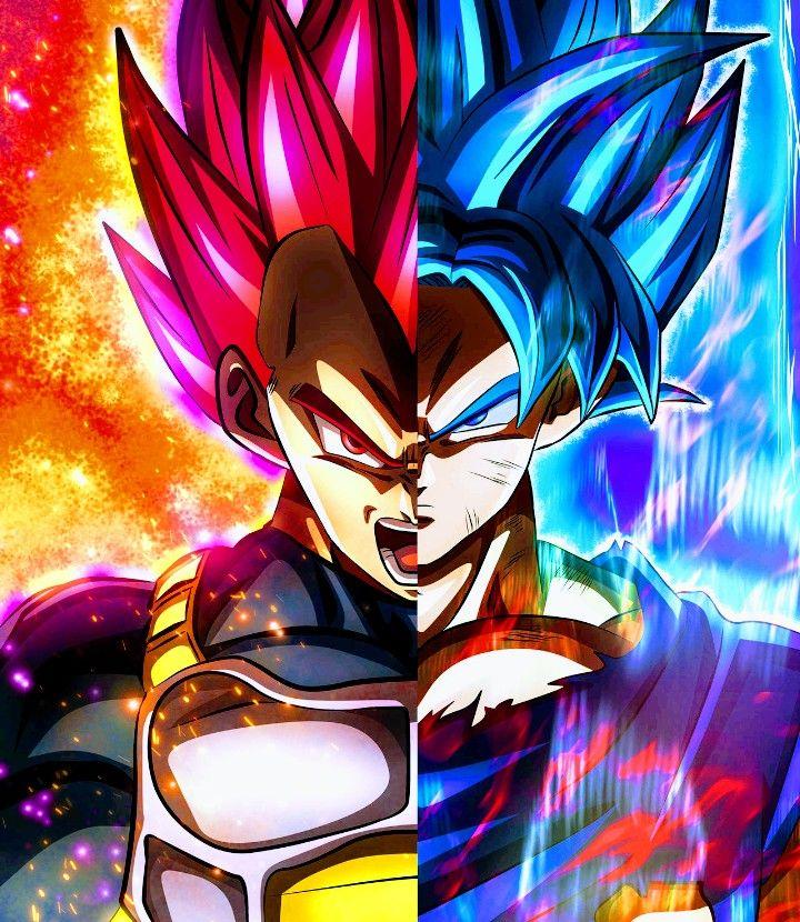 Goku Vegeta Dragon Ball Super Dragon Ball Wallpapers Anime Dragon Ball Super Dragon Ball Artwork
