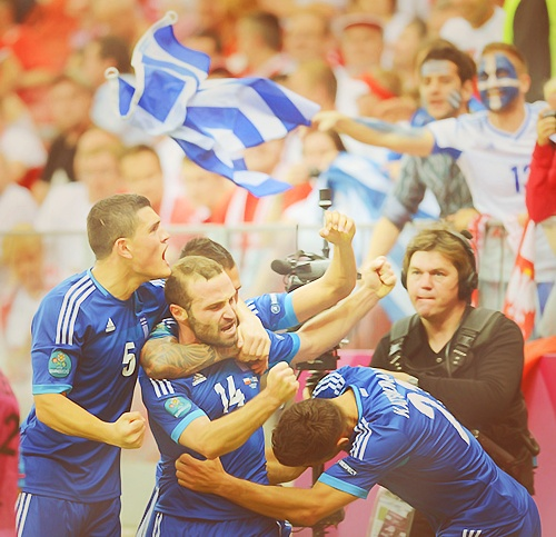 Greece NT. #euro2012