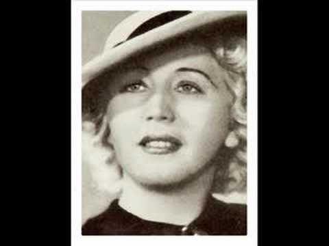 """Erna Sack (live) sings """"Du bist das Glück"""" in """"Blumen aus Nizza"""" 1936 . - YouTube"""