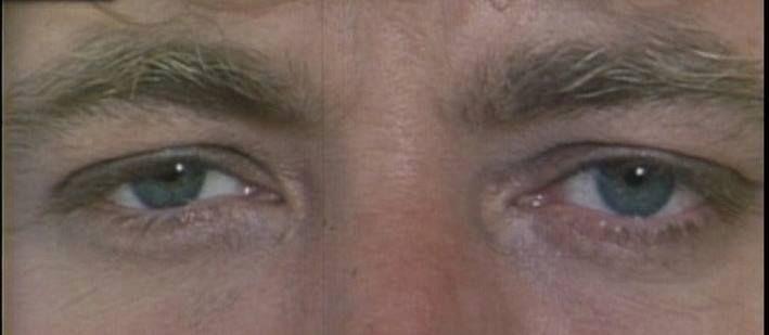 The blue eyes of Robert Plant