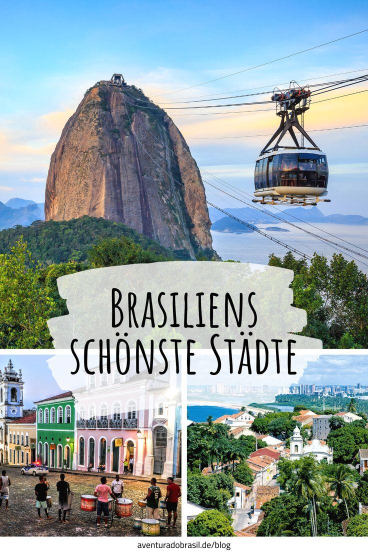 Rio de Janeiro, Olinda und Salvador… die Auswahl an schönen Städten ist in Brasilien, dem größten Land Südamerikas, sehr groß. Entdeckt in unserem neuesten Blogartikel die unserer Meinung nach schönsten brasilianischen Städte. #brasilienreise #städtetrip #citytour #riodejaneiro #salvador