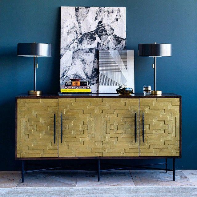 Working on rooms. #marcelcabinet #hammeredbrasslove #design #details  http://instagram.com/christianelemieux