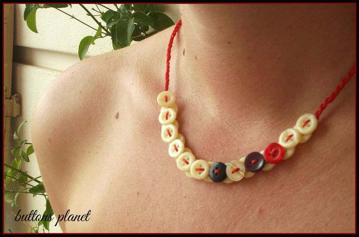 #buttons #necklace