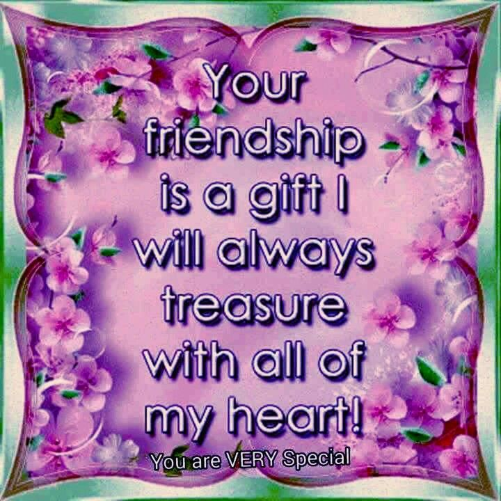 Thank You For Your Friendship Forever Friends Friendship Quotes