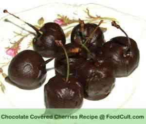Chocolate Covered (Dipped) Cherries