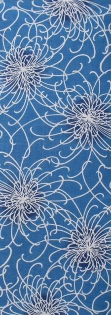 乱菊 薄青 chrysanthemums(light blue)