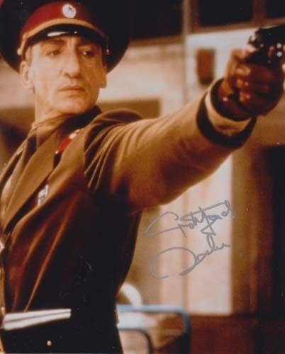 gottfried john () #007 james #bond autograph as general ourumov in goldeneye…