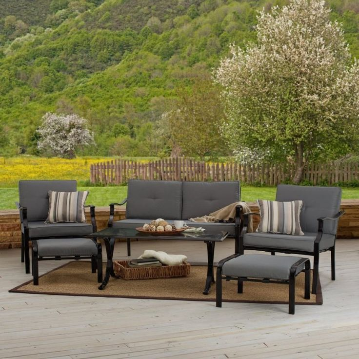 outdoor strathwood basics 6 piece furniture set cheap patio furniture sets for alluring outdoor nuance - Garden Furniture Cheap