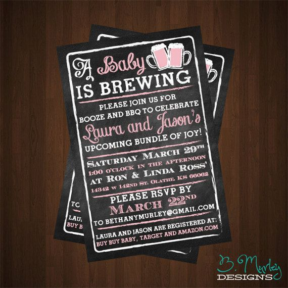 449 best birthday and baby shower invitations images on pinterest, Baby shower invitations