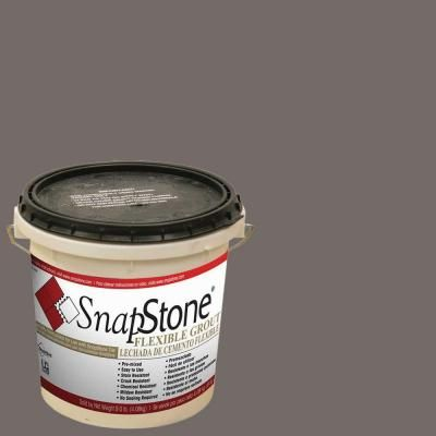 SnapStone Charcoal Grey 9 lb. Urethane Flexible Grout-11-219-02-01 - The Home Depot