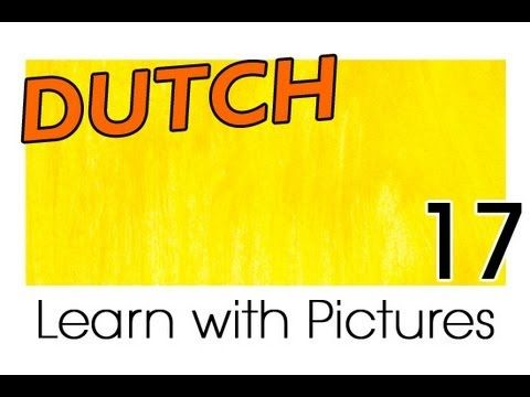 Learn Dutch Vocabulary with Pictures - A Rainbow of Colors - YouTube