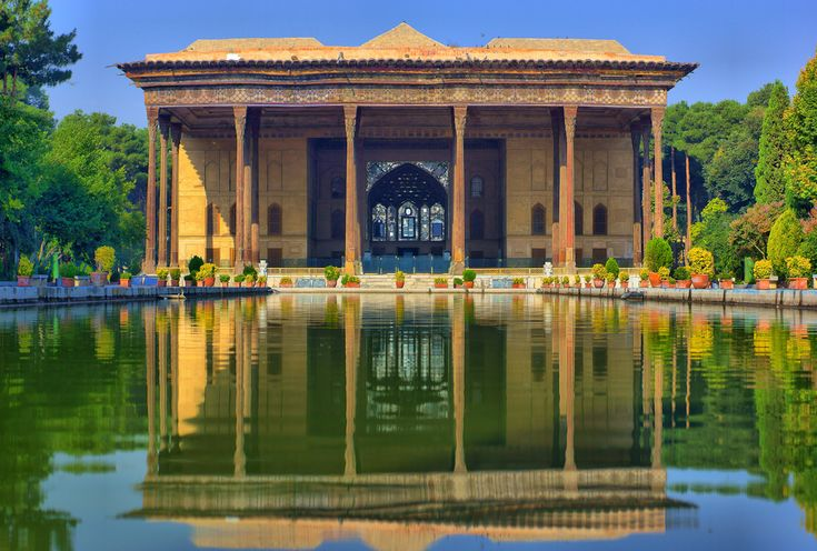 One of the most spectacular #historical constructions of #Isfahan (#Iran) is The Chehel Sotoun palace #TourToIran #AboutIran #TravelTips #MustseeIran #Travel #Unesco read more: http://tourtoiran.com/blog/isfahan-tourism-attractions-5-historical-places-of-the-city/