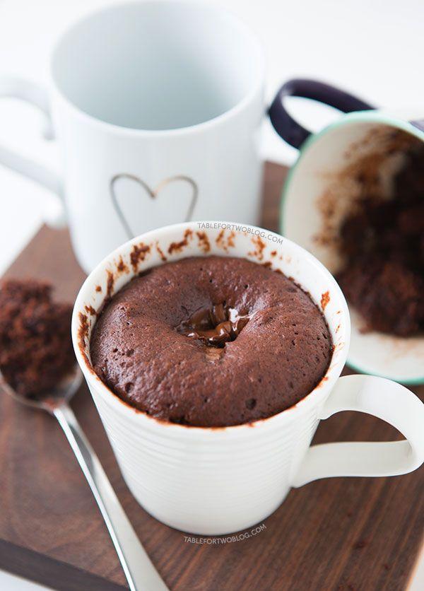 チョコレートマグケーキのレシピ