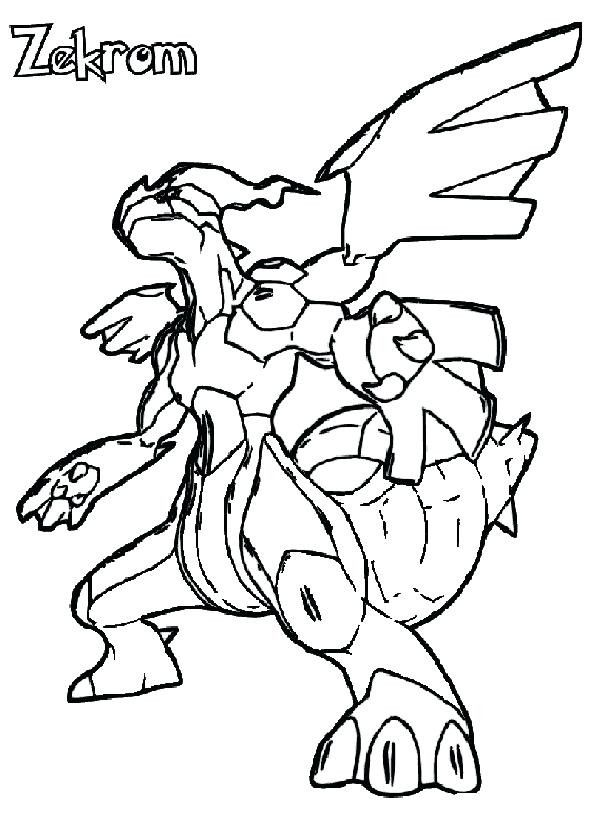 Zekrom Pokemon Coloring Page Youngandtae Com Pokemon Coloring Pages Pokemon Coloring Coloring Pages