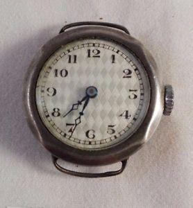 Montre ancienne, à damier, mécanique, femme, en métal/poinçon années 40-50. B149   eBay