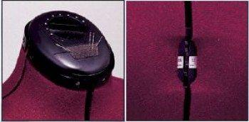 Manichino Prym Pantaform A-36/44 Cod. Art. 610028 - Caratteristiche: cremisi con supporto cromato, dieci ruote di regolazione, più 4 parti del corpo.