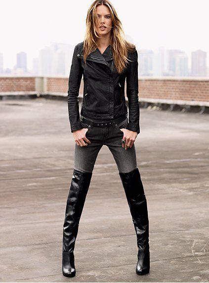 25  best Tall black boots ideas on Pinterest | Black boots, Black ...