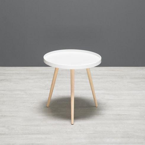 Die besten 25+ weißer runder Couchtisch Ideen auf Pinterest - wohnzimmertisch wei rund