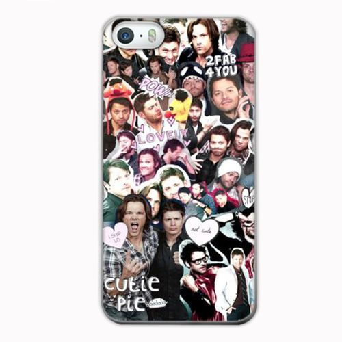 Supernatural Collage Phone Cases Design for iPhone 7, 6 6S, 6S Plus, 5 5S 5C SE at Casesummer for Sale at $15
