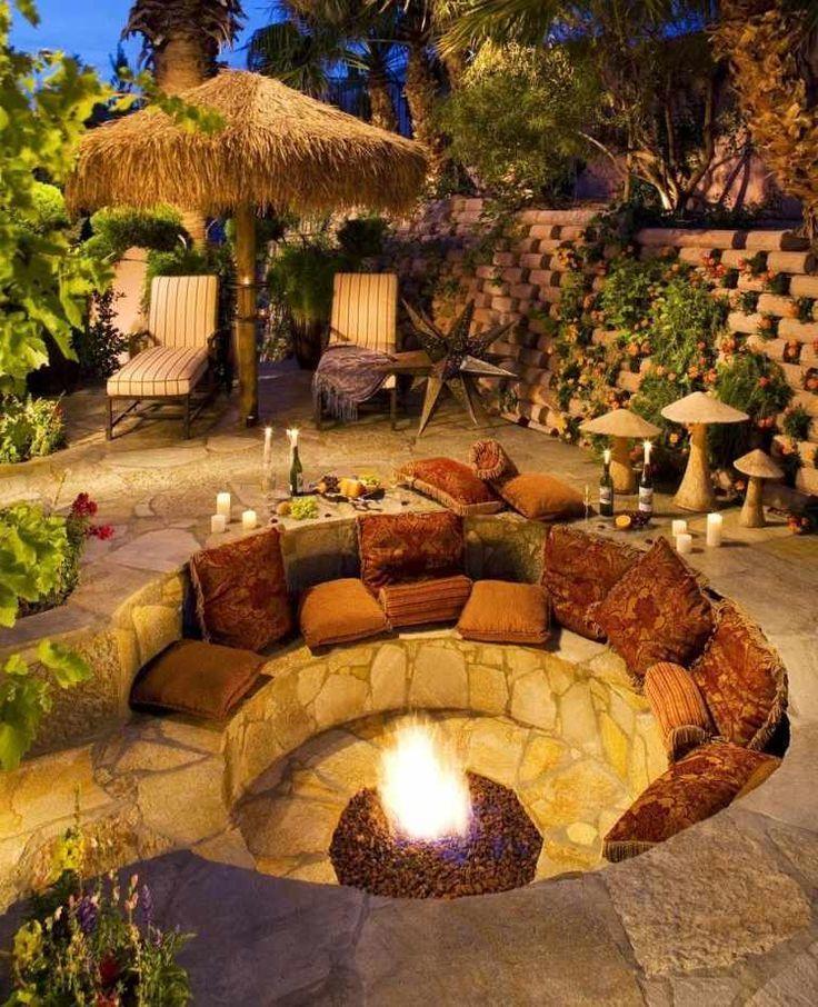 Die besten 25+ Sitzplatz Ideen auf Pinterest Pool-Terrasse - sitzplatz im garten mit steinmauer