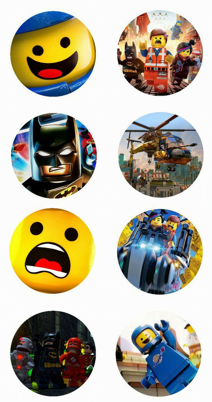 "The Lego Movie Free 1"" inch digital bottle cap images"