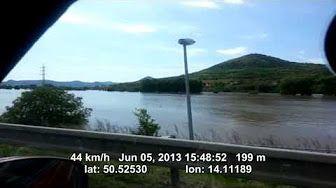 Povodně v Mostě - YouTube