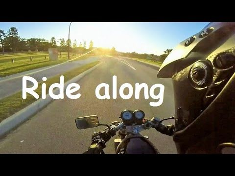 See me ride my bike around town. This is a type of daily observation. I ride my motorcycle around checking out cool vintage cars and motorbike and any other crazy thing I come across