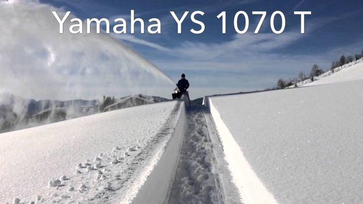Yamaha YS 1070 T Schneefräse Snowblower