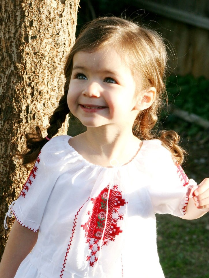 very young romanian little girls